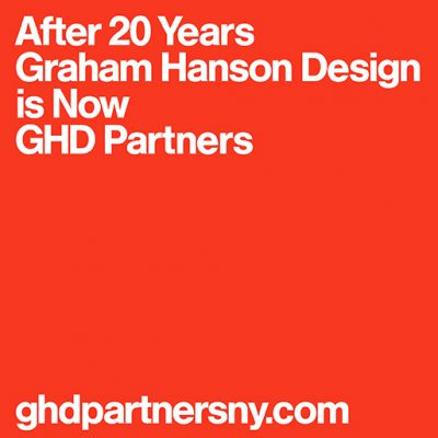 After 20 Years Graham Hanson Design is Now GHD Partners